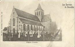 L'Eglise D'Assche.  Met Plooi  1900 - Asse