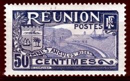 Réunion Island, Bay Of Saint-Denis, 50c., 1922, MH VF - Nuevos