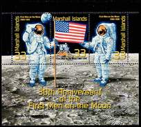 Space, Apollo-11. Marshall Islands 1999. Mi.blk30. MNH**