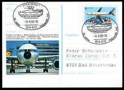 96410) BRD - SoST 8440 STRAUBING 1 Vom 09.06.1989 Auf PSo 17 - 30 Jahre PzGrenbBtl 242, Schützenpanzer - BRD