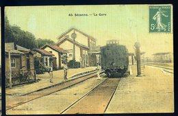 Cpa  Du 51 Sezanne  --   La Gare  JIP82 - Sezanne