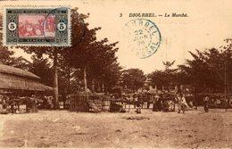 CPA SENEGAL, DIOURBEL, Le Marché, Animée - Senegal