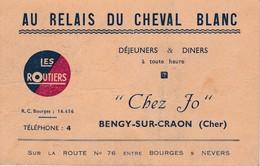 Bengy Sur Craon - Pub Restaurant Les Routiers - Autres Communes