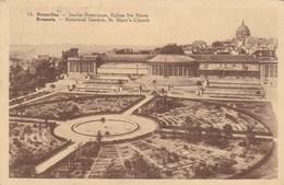 Brussel, Bruxelles, Jardin Botanique, Eglise STe Marie (pk31810) - Places, Squares