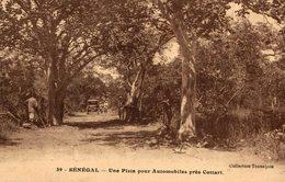 UNE PISTE POUR AUTOMOBILES PRES COTIARI SENEGAL - Senegal