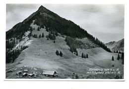 Hüttstättalp Mit Schymberg, Gelaufen 1936 Ab Lungern - OW Obwalden
