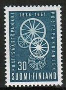 1961 Finland Postal Savings Bank **.