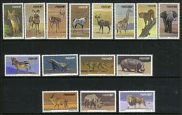 1980/1989 - SWA -  Catg. Mi. 476/477+479/492+484/492 - NH - (CAT85635.13) - Namibia (1990- ...)