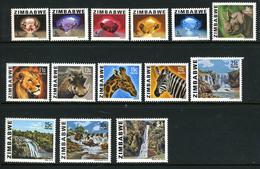 1980 - ZIMBABWE -  Catg. Mi. 227/240 - NH - (CAT85635.13) - Zimbabwe (1980-...)
