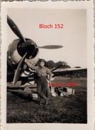 1 Photographie  Bloch 152 Armée De L'air Française 1941 Guerre - 1939-45