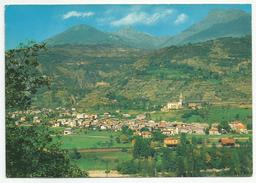 AOSTA (046) - NUS Panorama Verso La Valle Di St. Barthélemy - FG/Non Vg (spedita, Con Firma, Dal Parroco) - Aosta