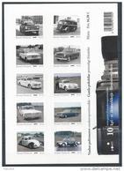 Finlande 2013 Feuillet Véhicules De Police: Peugeot, Saab, Volvo, Porsche, Renault, Moskvitsh, Plymouth, Volkswagen