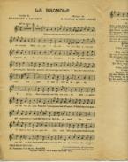 PARTITION CAF-CONC HUMOUR LA BAGNOLE BARENCEY DANERTY DUFAS ANDRÉ 1925 AUTO 120 DANS LE RAVIN ! - Muziek & Instrumenten