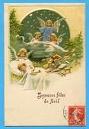 Natale Noel Weihnachten Christmas  Anges Enfants  Engeln Kinder  Angels Children Toys - Noël
