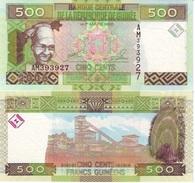 Guinea 500 Francs 2006 Pick 39-a UNC - Guinea