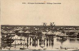 VILLAGE LACUSTRE      SENEGAL - Senegal