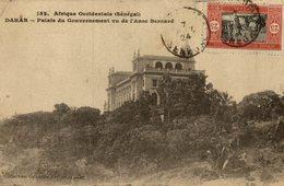 DAKAR PALAIS DU GOUVERNEMENT VU DE L´ANSE BERNARD    SENEGAL - Senegal