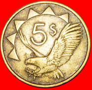 § SUN AND EAGLE: NAMIBIA ★ 5 DOLLARS 1993! LOW START ★ NO RESERVE! - Namibie