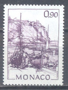Monaco YT N°1835 Barques Au Port Neuf ** - Monaco