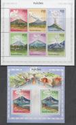 GUINEA BISSAU ,2010, MNH,VOLCANOS, SHEETLET + S/SHEET - Volcanos