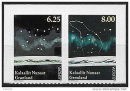 Groënland 2009 507/508 Adhésifs Neufs Europa Astronomie - Groenland