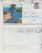 REPUBBLICA 1962 PORTOFINO GENOVA LETTERA POSTALE - 6. 1946-.. Repubblica
