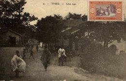 UNIQUE  THIES UNE RUE   SENEGAL - Senegal