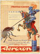 Ancien Protège Cahier Publicitaire Aeroxon - Animals