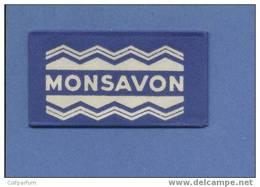 Une Lame De Rasoir  MONSAVON  (L105) - Scheermesjes