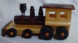 Miniature Wooden Locomotive - Locomotives