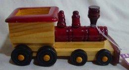 Miniature Wooden Locomotive - Locomotieven