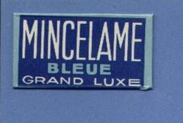 Une Lame De Rasoir MINCELAME BLEUE GRAND LUXE   (L66) - Scheermesjes