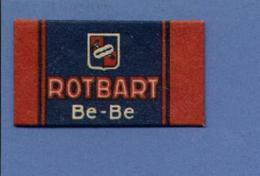 Une Lame De Rasoir   ROTBART  Be-Be  (L81) - Lames De Rasoir