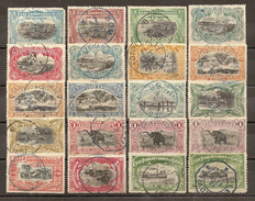 CONGO BELGA 1894/1900 - VFU - Congo Belga