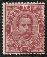 ITALIA 1879/82 - Yvert #34 - ** MNH (Rare!)
