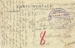 "1915- C P A De Monistrol-sur-Loire En F M D'un P G Allemand  "" Depôt Des P G  / Monistrol-s-Loire "" - WW I"