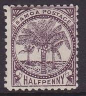 Western Samoa 1886 SG 57 P11 Mint Hinged - Samoa