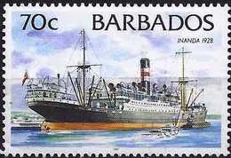 "Barbados 1998 - The Liner ""Inanda"" ( Mi 864 XII - YT 980 ) MNH** - Barbades (1966-...)"