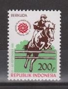 Indonesia Indonesie Nr 1347 MNH ; Paardensport, Equestrian Sports, Hippique, Cabalgar 1988 - Paardensport