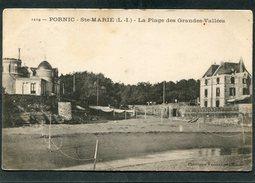 CPA - PORNIC - Ste MARIE - La Plage Des Grandes Vallées - Pornic