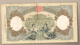 """Italia - Banconota Circolata Da 5.000£ """"Regine Del Mare""""  - TESTINA - 1947 RARISSIMA!!!!! - 5000 Lire"""
