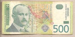 Serbia - Banconota Circolata Da 500  Dinari - 2004 - Serbia