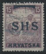 YUGOSLAVIA 1918/19 - Yvert #14 - VFU - 1919-1929 Reino De Los Serbios, Croatas Y Eslovenos