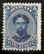 HAWAI 1861 - Yvert #24 - Sin Goma (*) - Hawai