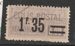 FRANCE N° 39 1F35 S 2F VIOLET MAJORATION OBL - Usados