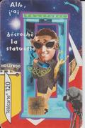 """Carte Téléphonique  - Allo, J'ai Décroché La Statuette - Collection """"Grandes Nouvelles"""" N°5 - 120 Unités - 2 Scannes. - France"""