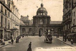 PARIS LA RUE DE TOURNON ET LE SENAT - Arrondissement: 06