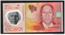 CAPE VERDE (CAPO VERDE) :  200 Escudos - 2014 - UNC - Cabo Verde
