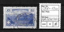 GEBIRGSLANDSCHAFTEN → Rütli SBK-130  ►Stempel WÄDENSWIL 9.VII.19◄ - Schweiz