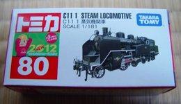 C11 1 Steam Locomotive 1/181 ( Tomica ) - Model Railways